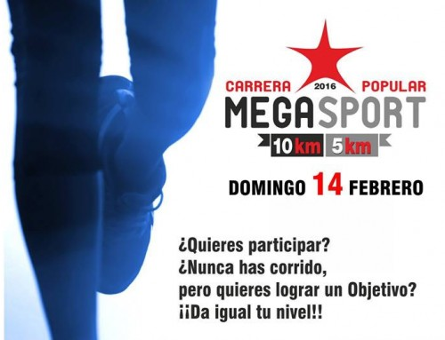 Carrera Popular MegaSport 2016