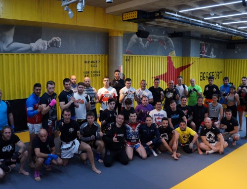 Megasport Centre welcomes Spanish K-1 Max champion Abraham Roqueñi