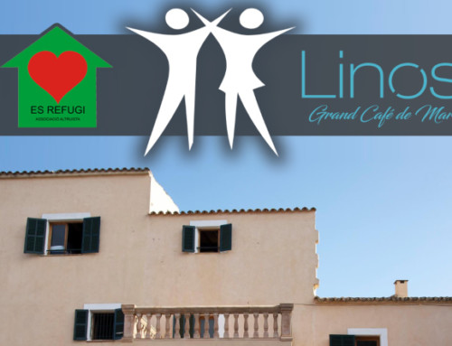 Linos participa en la tómbola benéfica de Es Refugi